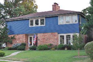 Exterior Paint Color Blue