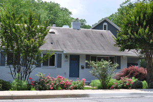 Exterior paint color Blue/Gray
